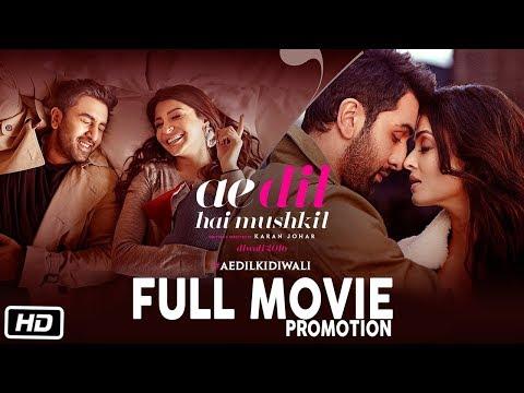 Ae Dil Hai Mushkil Full Movie Promotion   Ranbir Kapoor   Anushka Sharma   Aishwarya Rai   Karan