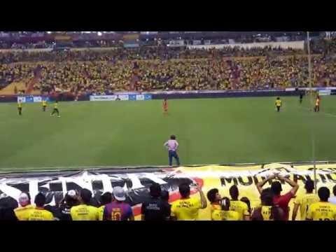 Oh amarillo vamos + El día viviré - Barcelona 1 - Nacional 0 ( 4k UHD ) - Sur Oscura - Barcelona Sporting Club
