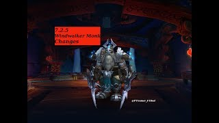 Hello all and welcome to my 7.2.5 Windwalker Monk updates and thoughts video. Inside you will find the changes to the class...