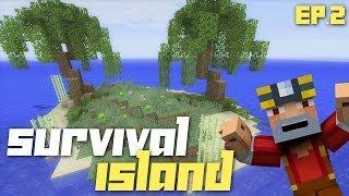 Minecraft Xbox 360: Hardcore Survival Island - Part 2! (Mining Diamonds!)