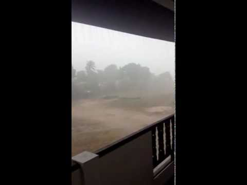 Tropical storm – crazy weather in Koh Samui, Thailand