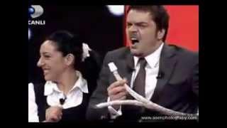 Beyaz Show Mikrofon Kazası çok Komik