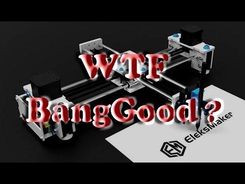 Unboxing of UNSATISFACTORY EleksMaker EleksDraw Robot