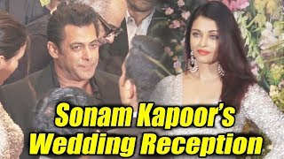 Video Salman Khan And Aishwarya Rai Spotted Together At Sonam Kapoor's Wedding Reception MP3, 3GP, MP4, WEBM, AVI, FLV Mei 2018