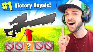 Download Video The 1 GUN CHALLENGE in Fortnite: Battle Royale! (HARD) MP3 3GP MP4