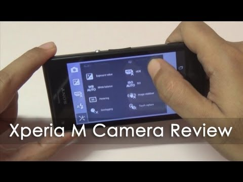 how to solve xperia m camera problem