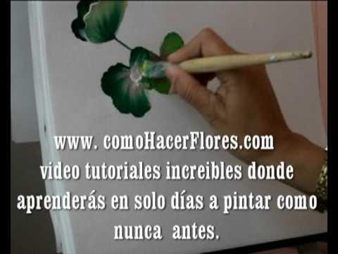 70-¡!!COMO  HACER  FLORES .COM!!! Es pintar flores bonitas !!!.