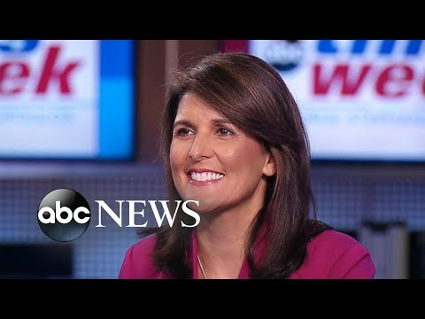 Ambassador Haley: 'I've never heard' Cabinet consider invoking 25th Amendment
