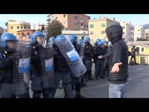 Ιταλία: Συγκρούσεις ακροαριστερών-αστυνομίας στη Γένοβα