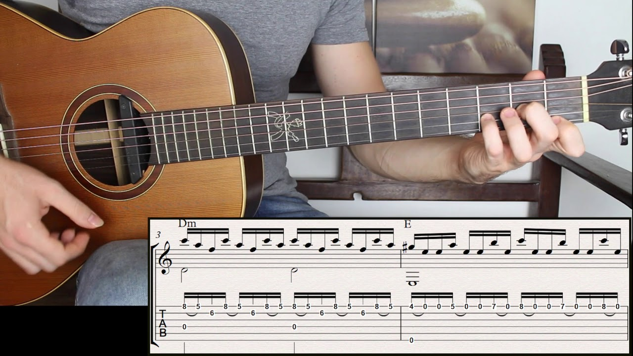 Spanish Guitar | Fast Chords that Sound Melodic (advanced lesson).