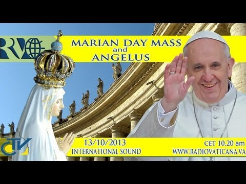 Mass - Pope Francis presides over the Holy Mass on the occasion of the Marian Day, in the framework of the Year of Faith, and recites the Angelus prayer with the pilgrims. - Santa Messa presieduta...