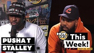 Pusha T's favorite track, Stalley is Late Night with Rosenberg + more HOT 97 This Week!
