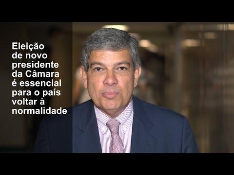 Marcus Pestana: novo presidente da Câmara para o país funcionar