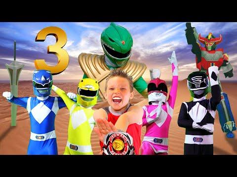 POWER RANGERS NINJA KIDZ! Episode 3 - Rise of the GREEN RANGER!