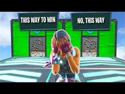 This TROLL Deathrun Is IMPOSSIBLE... *300 IQ* (Fortnite Creative)