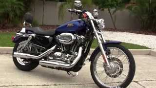 9. Used 2007 Harley Davidson Sportster 1200 Custom Motorcycles for sale in Lakeland