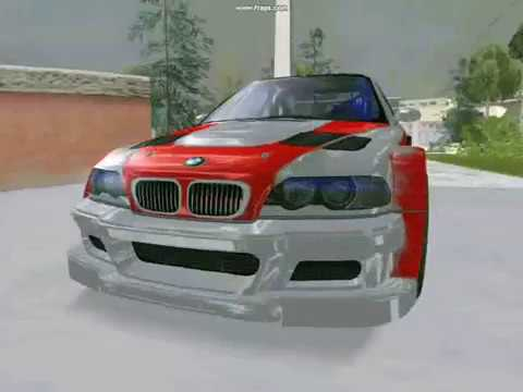 Youtube's BMW M3 ! ! ! (MostWanted design) -GREEK-