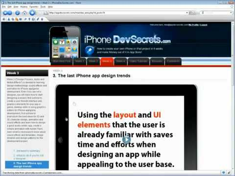 HOW TO CREATE IPHONE APPS