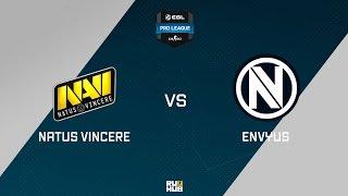 Na'Vi vs EnVyUs, game 1