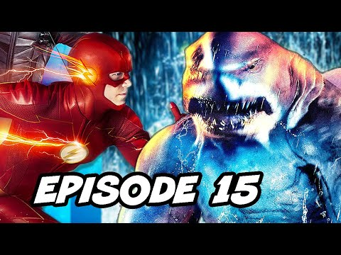 The Flash Season 5 Episode 15 King Shark vs Grodd Easter Eggs Breakdown