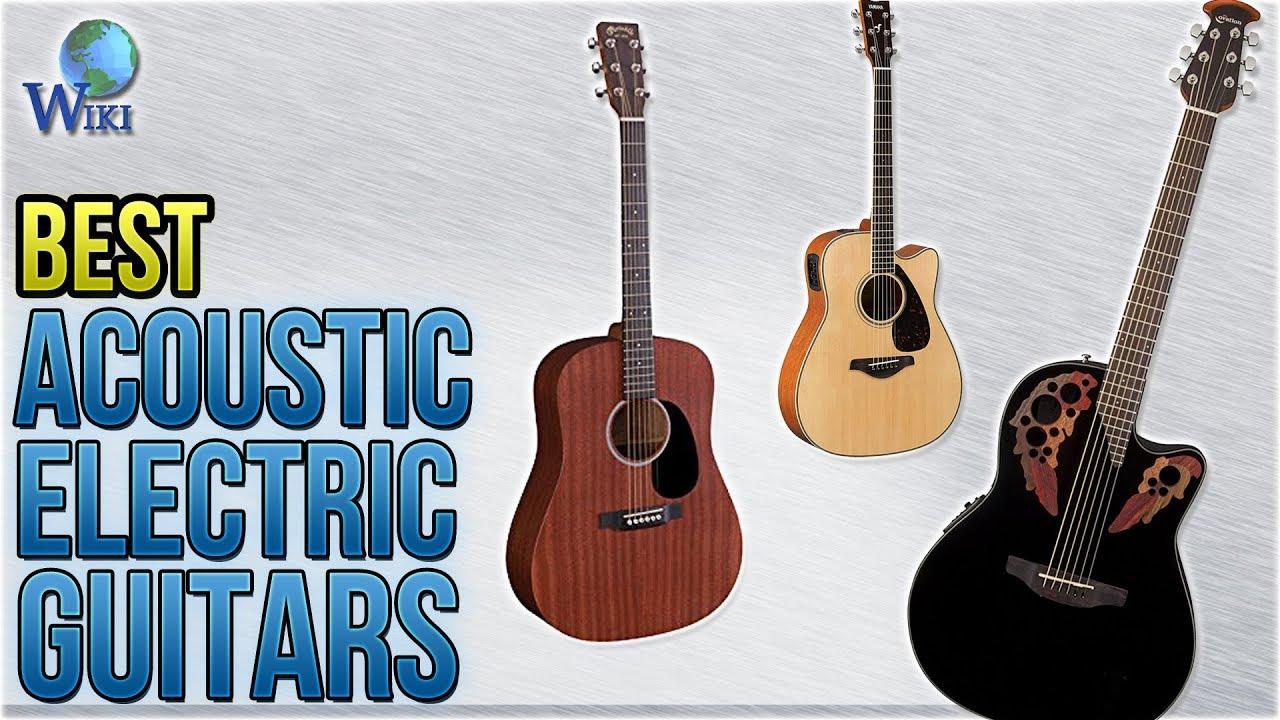 10 Best Acoustic Electric Guitars 2017