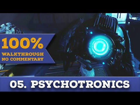 Prey 2017 Walkthrough [1440p] (All Collectibles,Nightmare) part 5 PSYCHOTRONICS