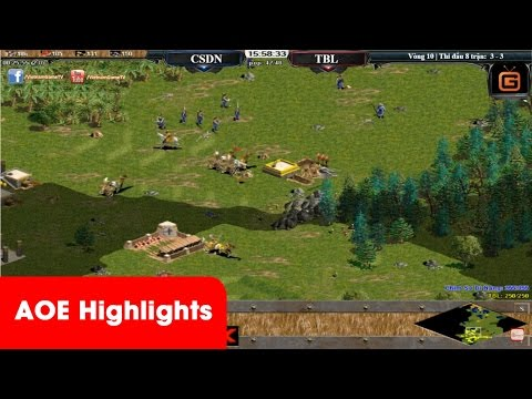 AOE Highlights - Trận cầm choson quá khủng kiếp trong tay CSDN