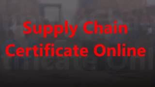 Logistics & Supply Chain Management Diploma (Level 4)