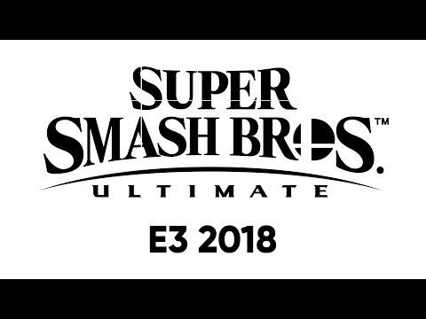 Super Smash Bros. Ultimate dans le Nintendo Direct: E3 2018