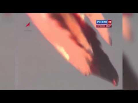 Cohete se estrella segundos después del lanzamiento