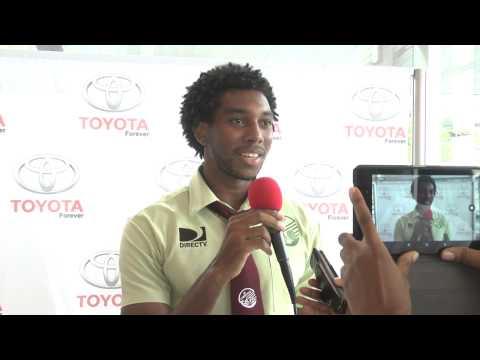 Juma Clarence gears up the Toyota Classic