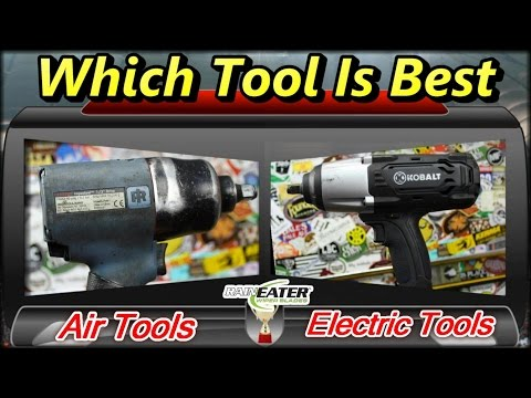 Air Tools VS Electric Tools ~ Which Tool is BEST?