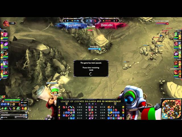 LeagueOfLegends-BG 5VS5 EUNE #26