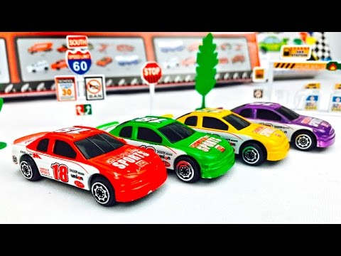 Video Carros de Carrera para Niños - Aprende los Colores - Videos Infantiles download in MP3, 3GP, MP4, WEBM, AVI, FLV January 2017