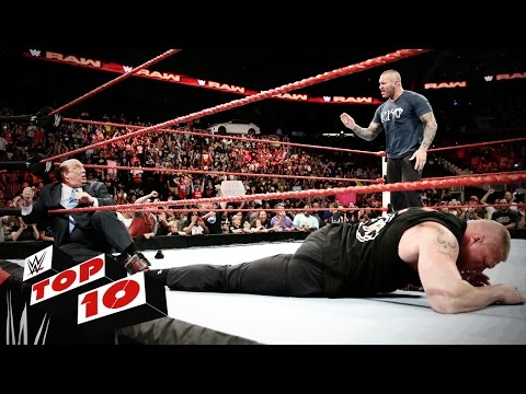 Top 10 Raw moments: WWE Top 10, August 1, 2016