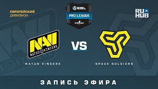 Na`Vi vs Space Soldiers - ESL Pro League S7 EU - de_inferno [CrystalMay, SleepSomeWhile]