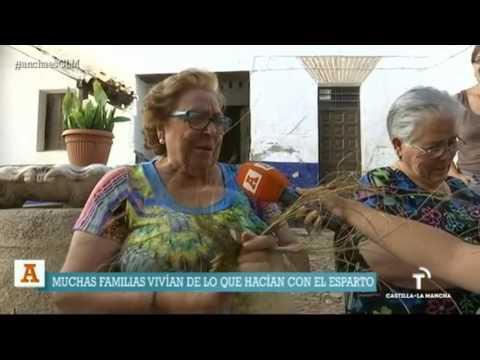 Pleita y tomiza en Almonacid de Toledo. Ancha es Castilla - La Mancha.