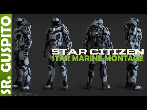 Star Citizen - Star Marine Action Mountage (видео)
