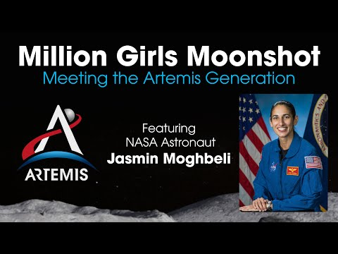 Million Girls Moonshot: Meeting the Artemis Generation
