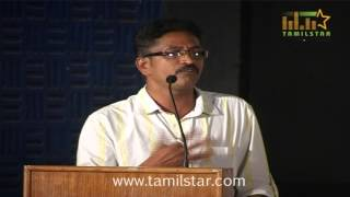 Director Govindha Moorthy at Pappali Movie Audio Launch