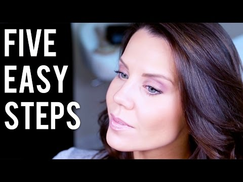 steps - This is my go to 5 Step Eye Look that's quick & never fails to look polished & pretty. Whether you're new to makeup or just want a look that's easy to do these 5 steps never fail to look great...