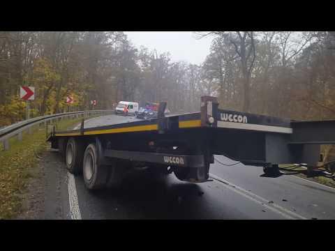 Wideo1: Wypadek w Godurowie na DK12