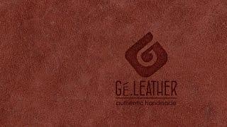 Pembuatan dompet kulit  (bagian 2) Video