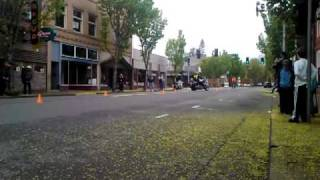10. Me racing my V2K in the Cone Weave at Cottage Grove Bike Fest