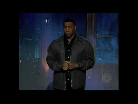 clinton jackson on the late late show with craig ferguson
