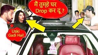Video Abhishek's JEALOUS Reaction When Aishwarya Rai Offers To Drop Ranbir Kapoor Home In Her CAR MP3, 3GP, MP4, WEBM, AVI, FLV Oktober 2018