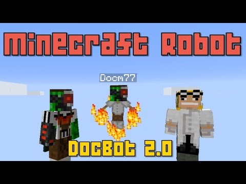 2.0 - A Minecraft Robot with Jetpack and many more functions such as playing a