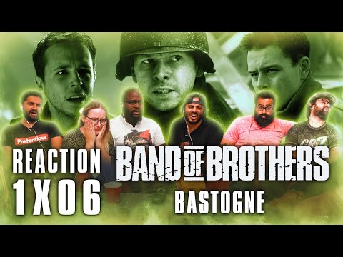 Band of Brothers - Episode 6 Bastogne - Group Reaction