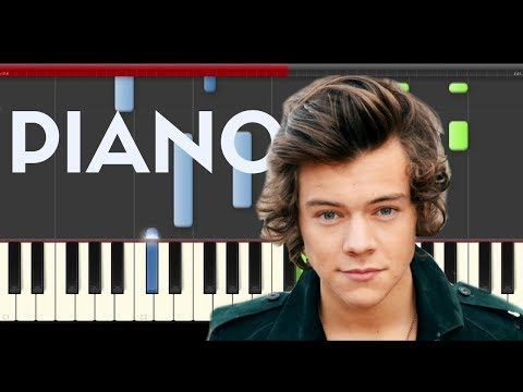 Harry Styles Woman Piano Midi tutorial Sheet app Cover Karaoke