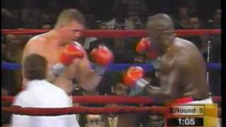 Buster Douglas on the comeback trail